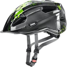 UVEX Quatro Junior Helmet anthracite-green